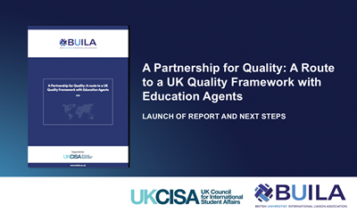 UKCISA and BUILA launch report on international education agents
